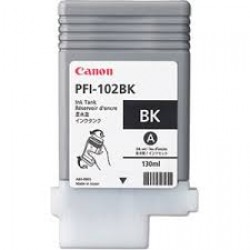 Canon PFI-102BK (Genuine) 130ml