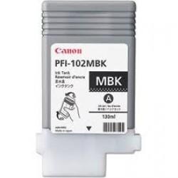 Canon PFI-102MBK (Genuine) 130ml