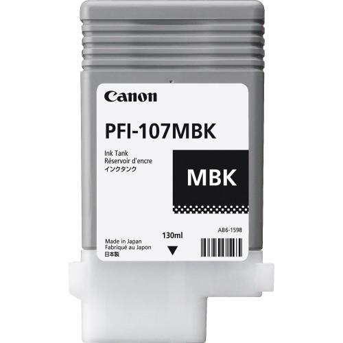 Canon PFI-107MBK (Genuine) 130ml