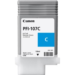 Canon PFI-107C (Genuine) 130ml