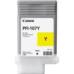Canon PFI-107Y (Genuine) 130ml